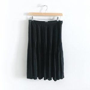 Wilfred A-Line Accordion Midi Skirt - size 6